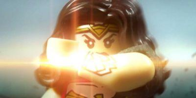 Wonder Woman Poster Recreated With LEGO Figure