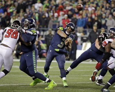 Atlanta Falcons hold off Seattle Seahawks for 34-31 road victory