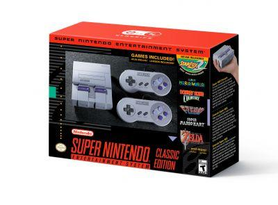 SNES Classic Edition officially announced, releasing September 29