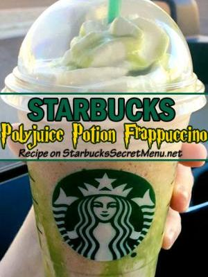 Polyjuice Potion Frappuccino | Starbucks Secret Menu