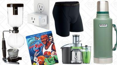 Saturday's Best Deals: Breville Juicer, Syphon Coffee, Space Jam, and More