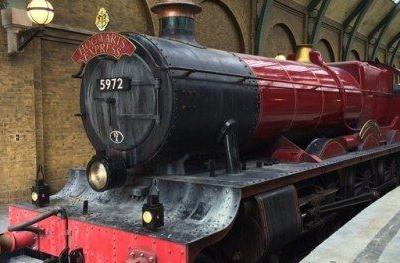 Real-Life Hogwarts Express Train Rescues Family in