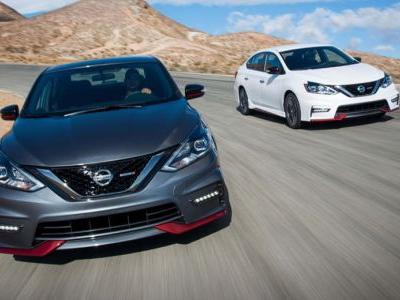 2018 Nissan Sentra Priced From $16,990