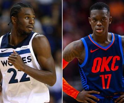Andrew Wiggins denies calling Thunder guard 'gay' after ugly game