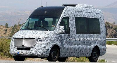New Mercedes Sprinter Scooped In Spain, Will Be Offered As An EV