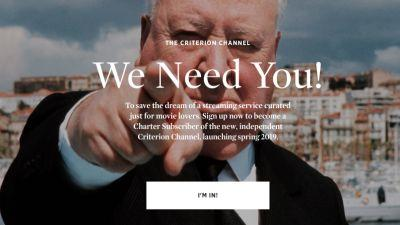 Introducing The Criterion Channel, Become a Charter Member