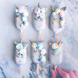 Try Not to Drool Over These Magical Unicorn Cake Pops - It's Impossible