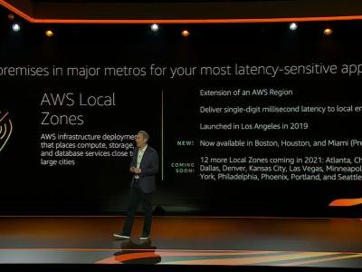 AWS updates its edge computing solutions with new hardware and Local Zones