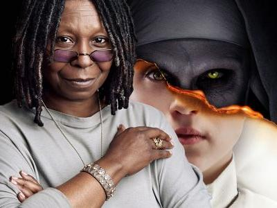 Whoopi Gets A Horror Makeover In The Nun & Sister Act Fan Poster