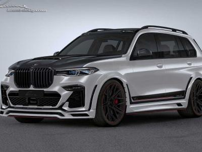 Lumma Design Take BMW X7 A Little Over The Top