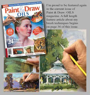FEATURE ARTICLE IN ART MAGAZINE by TOM BROWN