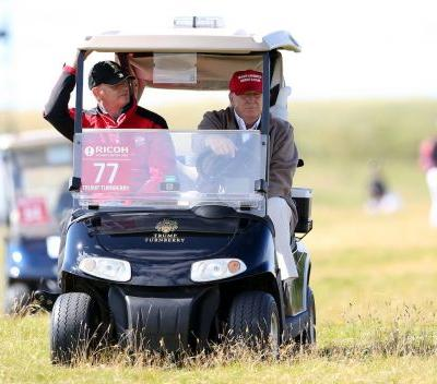 18 photos of US presidents playing golf over the last 100 years