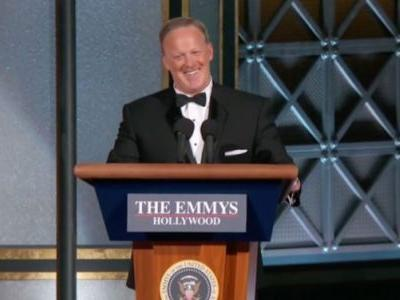 Sean Spicer's Emmy Stunt Set A Really Bad Precedent