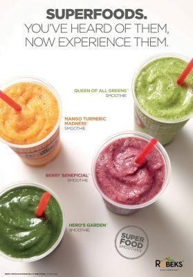 Robeks Fresh Juices and Smoothies Introduces New Menu