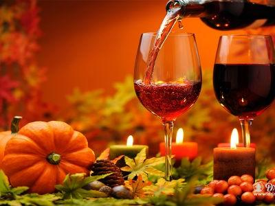 Turkey Dine On The Right Wine