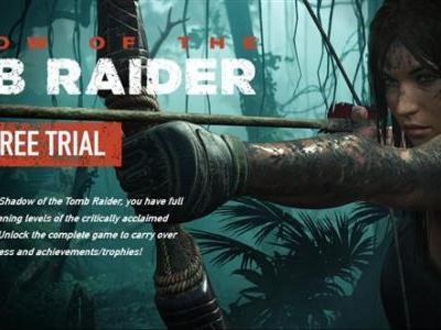 Shadow of the Tomb Raider Free trial now available