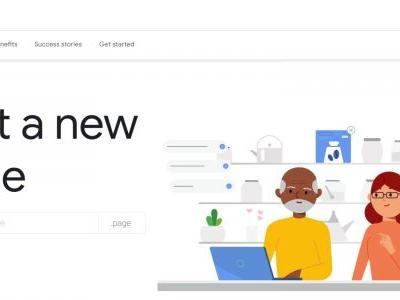 Google Registry introduces .page top-level domain, early registration now open