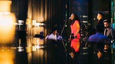 Performing Live at Blue Bar - Four Seasons Hotel Hong Kong Presents Crystal Plus New Fall Cocktails