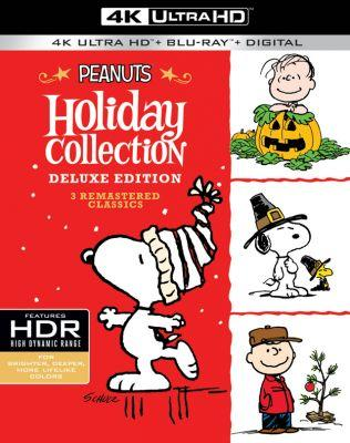 4K 'Peanuts Holiday Collection' Brings Classic Charlie Brown to Ultra HD Blu-ray