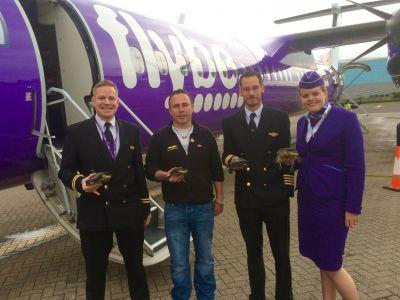 Flybe and National Reptile Zoo Unite To Get Endangered Turtles Flying