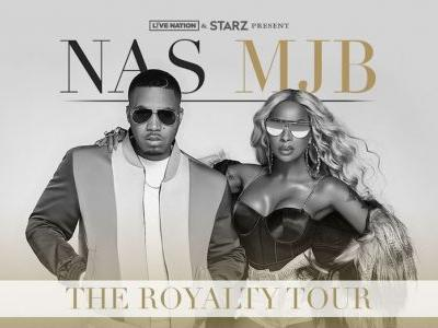 "Mary J. Blige and Nas announce new ""Royalty Tour"" dates"