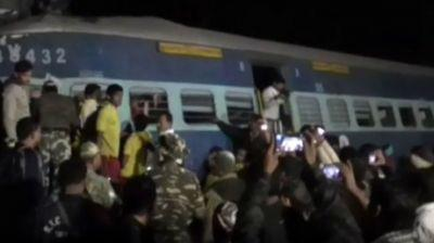At least 23 killed, dozens injured after train derails in India