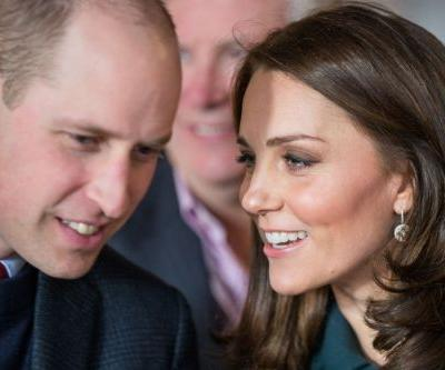 Kate Middleton in early stages of labor with 3rd child