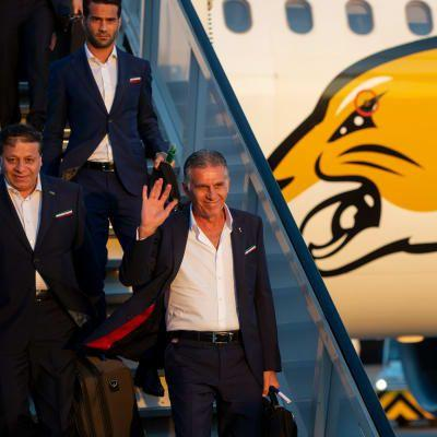 IR Iran first team to arrive in Russia
