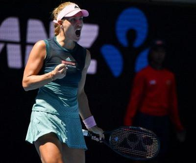 Kerber stunned as Nadal powers into Open quarters