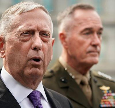 Mattis explains why the US isn't shooting down North Korean missiles