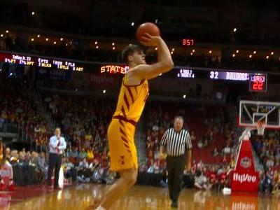 Jacobson's 22 leads Iowa State past Drake 77-68 in HyVee Classic