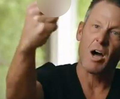 'F-k you': Lance Armstrong documentary gets off to quite the start