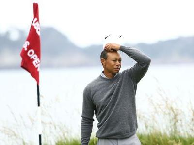U.S. Open 2019: Tiger Woods struggling to get going on Moving Day