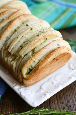 Garlic and Herb Loaded Pull-Apart Bread