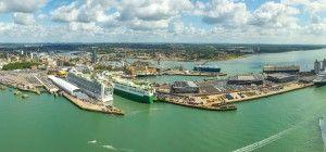 Southampton Port receives the road warning as 10 cruise ships are arriving