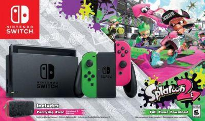 Nintendo Switch Splatoon 2 Edition Bundle Coming to North America, Exclusive at Walmart