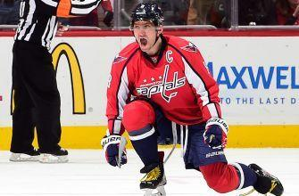 Capitals' Alex Ovechkin scores 1,000th NHL point