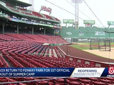 Members of Red Sox test positive for COVID-19, manager confirms