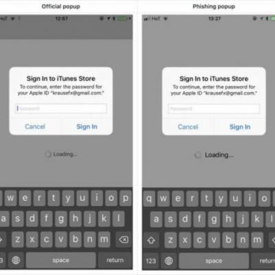 IOS Phishing Attack Masks Itself As Apple-Style Password Request