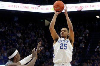 PJ Washington's 21-point effort helps No. 8 Kentucky get past No.22 Mississippi State