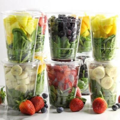 How to Meal Prep Smoothies