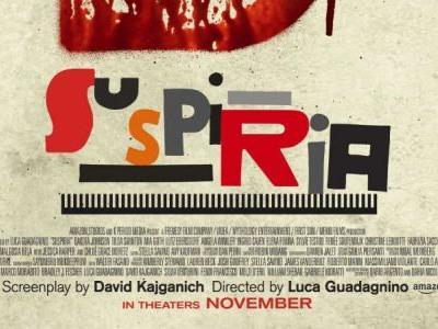 New Suspiria Poster Is A Bloody Teaser