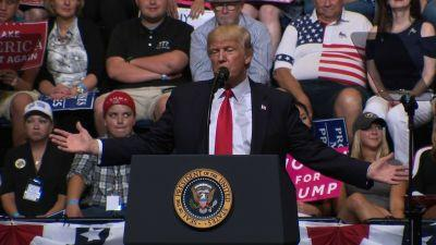 Trump to rally base, celebrate GOP victories in eastern Iowa