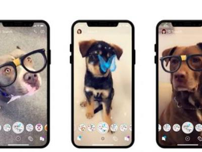 Snapchat Launches Lenses for Dogs Just in Time for Christmas Pet Selfies