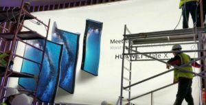 Here's our first look at Huawei foldable Mate X smartphone