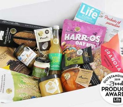 Be in to win a basket of award-winning goodies from the Outstanding NZ Food Producer Awards, valued at $125