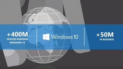 Windows 10 now powering more than 50 million business PCs