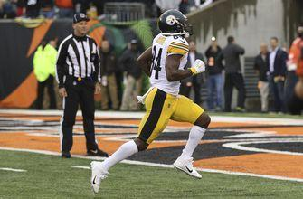 Antonio Brown's late TD sends Steelers over Bengals 28-21