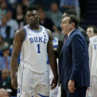 Mike Krzyzewski: Zion Williamson not in 'playing shape,' should've skipped summer league