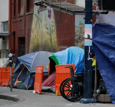 San Francisco's largest homeless shelter has been hit with a coronavirus outbreak, with 70 confirmed cases